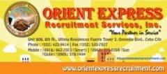 Orient Express Recruitment Services Inc.